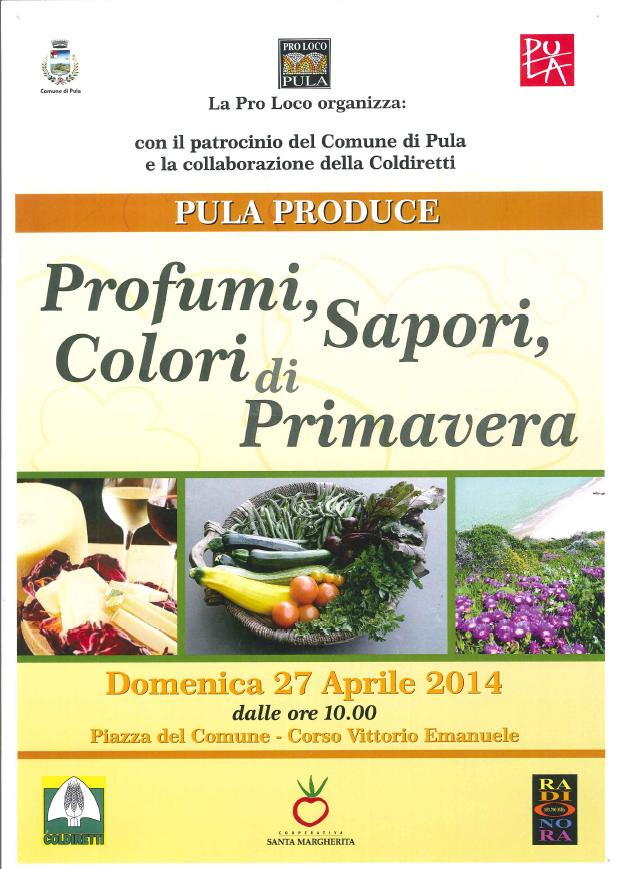 Pula Produce Domenica 27 Aprile 2014