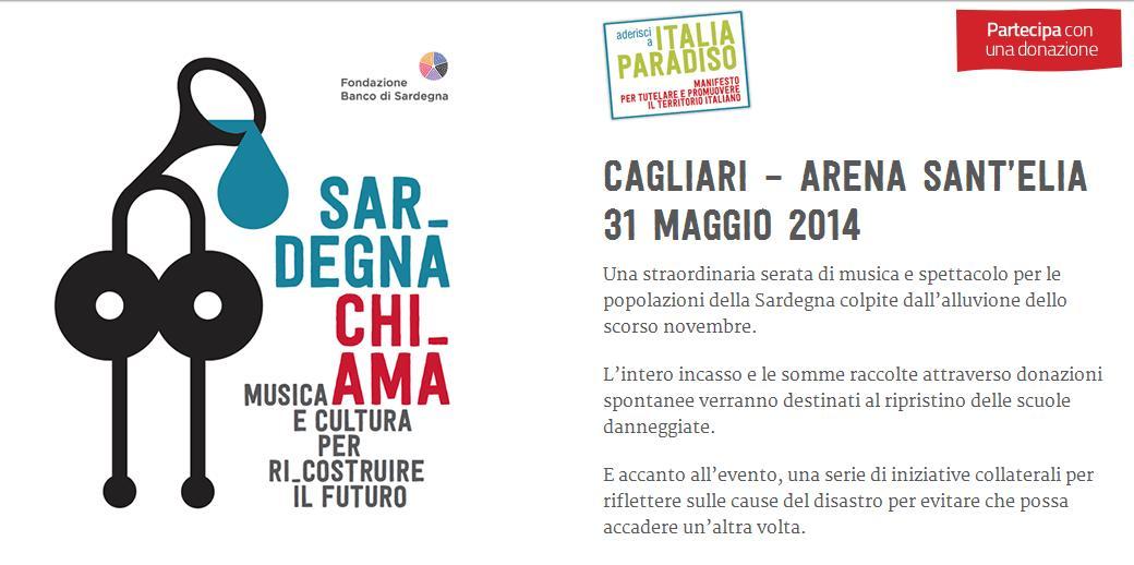 Sardegna Chi_ama Cagliari Arena Sant'Elia 31 maggio 2014