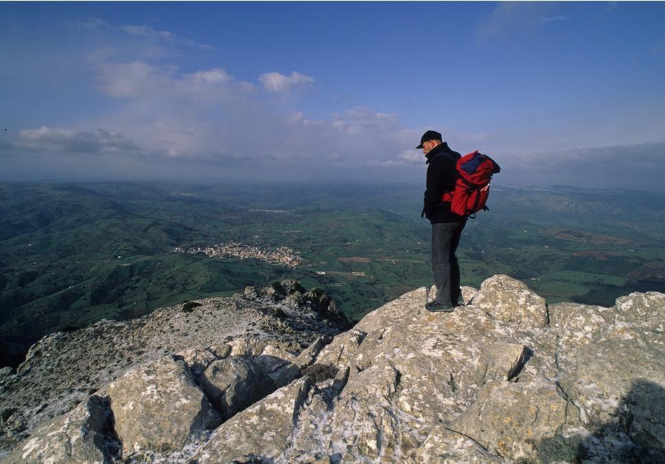 Siniscola Trekking veduta panoramica dal Monte Albo