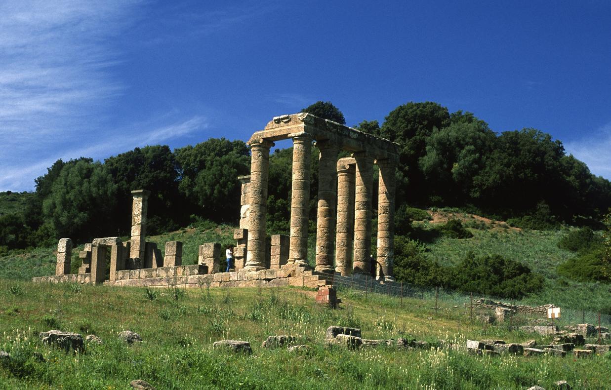 Tempio punico romano di Antas Fluminimaggiore Monumenti Aperti 2014