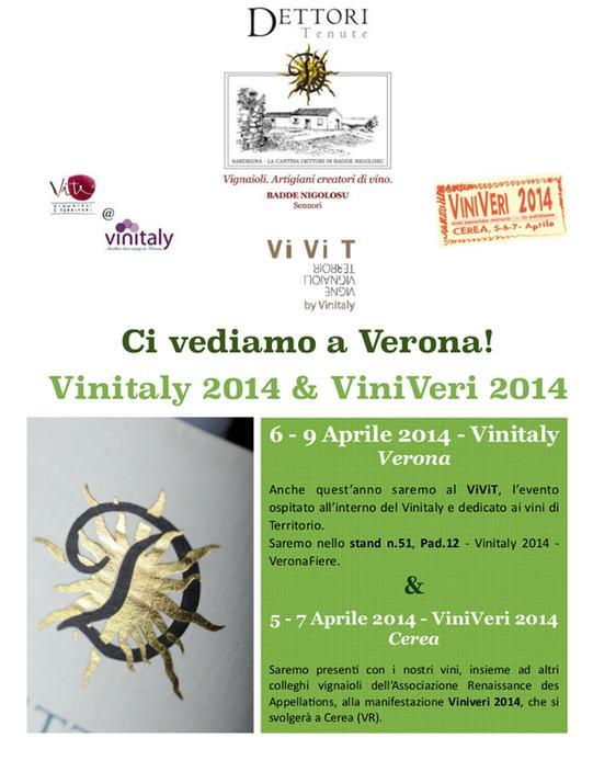 Tenute Dettori Sennori (SS) Vinitaly 2014 + ViniVeri 2014