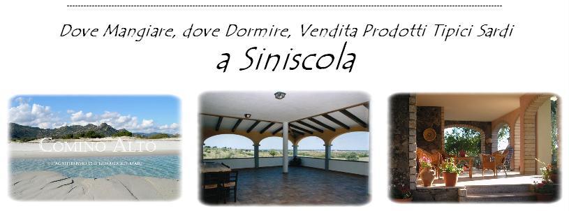 Turismo Siniscola 2014 Vacanze a Siniscola 2014 dove dormire dove mangiare vendita prodotti sardi a Siniscola Nuoro
