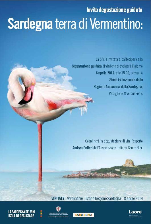 Vinitaly 2014 Programma eventi Regione Sardegna