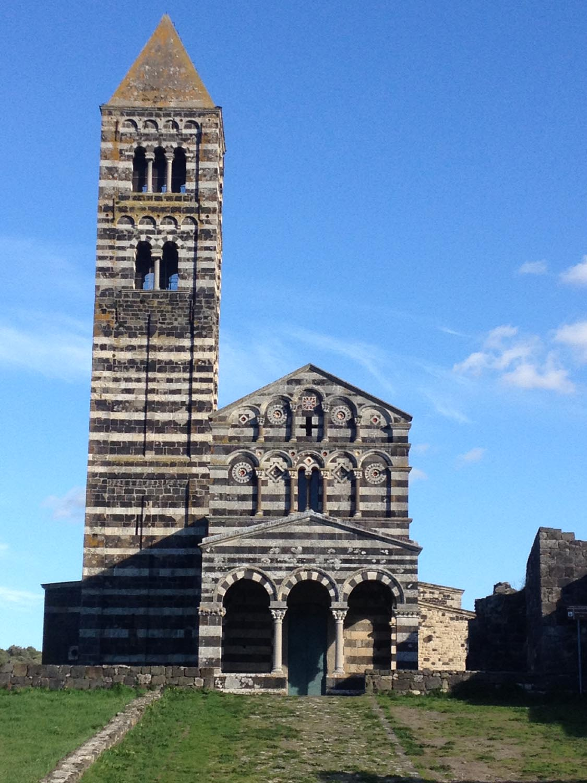 Chiesa della Santissima Trinità di Saccargia a Codrongianos Monumenti Aperti Sardegna dal 3 maggio al 1 giugno 2014