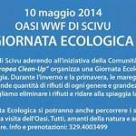 """Sabato 10 maggio 2014 OASI WWF di Scivu """"Giornata Ecologica""""."""