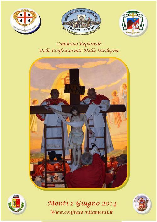 Cammino Regionale Delle Confraternite Della Sardegna Monti 2 giugno 2014.