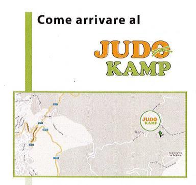 Come arrivare al Judo Camp Nuoro