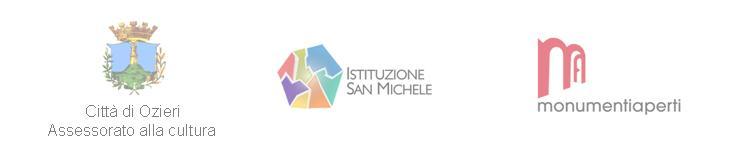 Comune di Ozieri Istituzione San Michele e Monumenti Aperti sabato 24 e domenica 25 maggio 2014