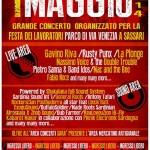"""Sassari 1 maggio 2014 Concerto al Parco """"Maria Carta"""" di via Venezia."""