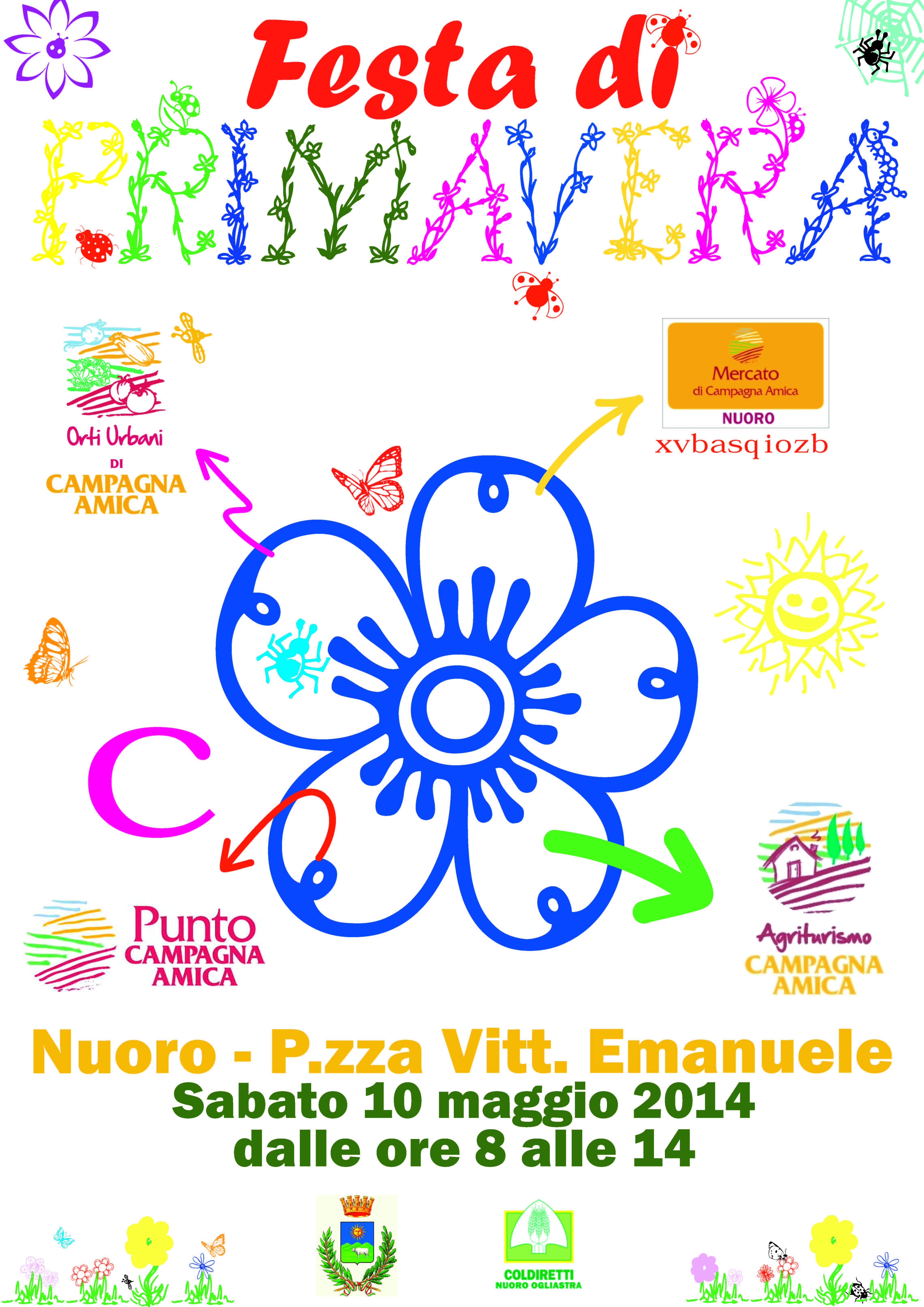 Festa di Primavera Nuoro - P.zza Vitt. Emanuele - Sabato 10 maggio 2014.