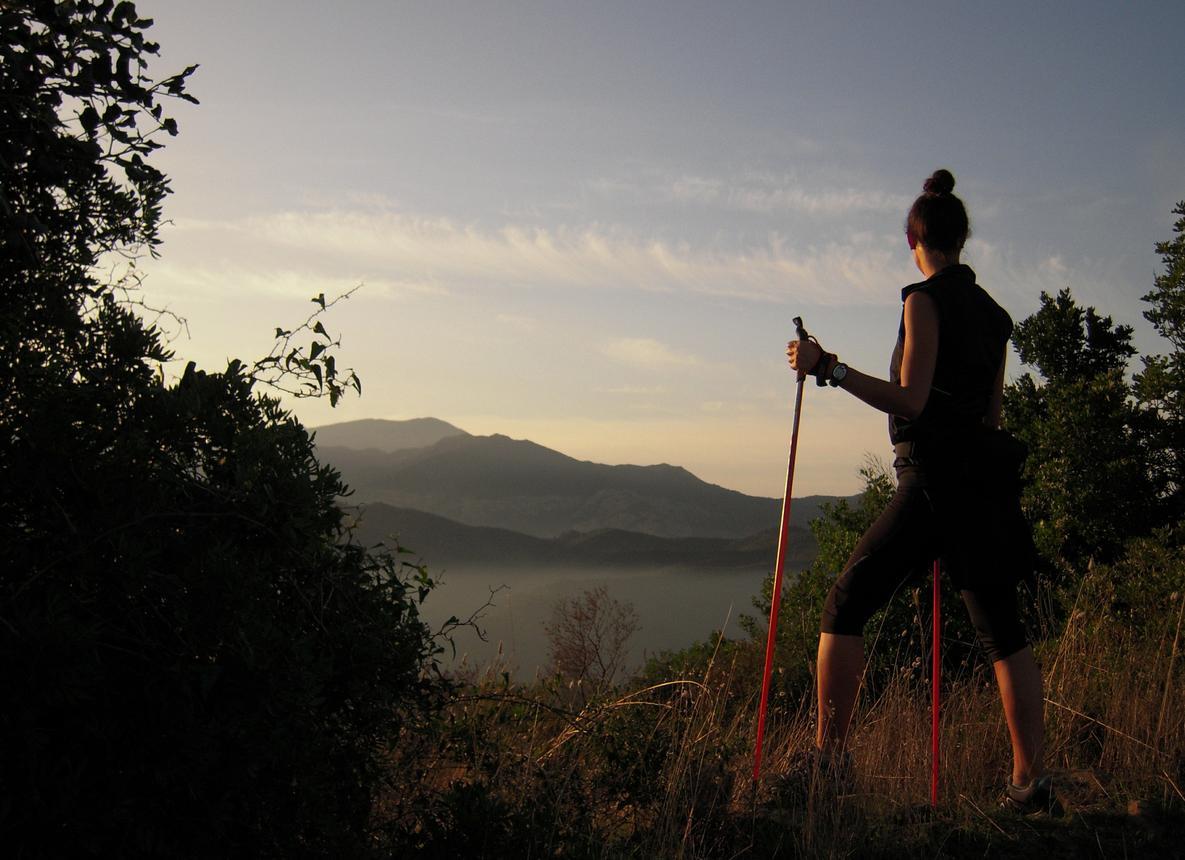 Il Nordic Walking a Monte Arcosu