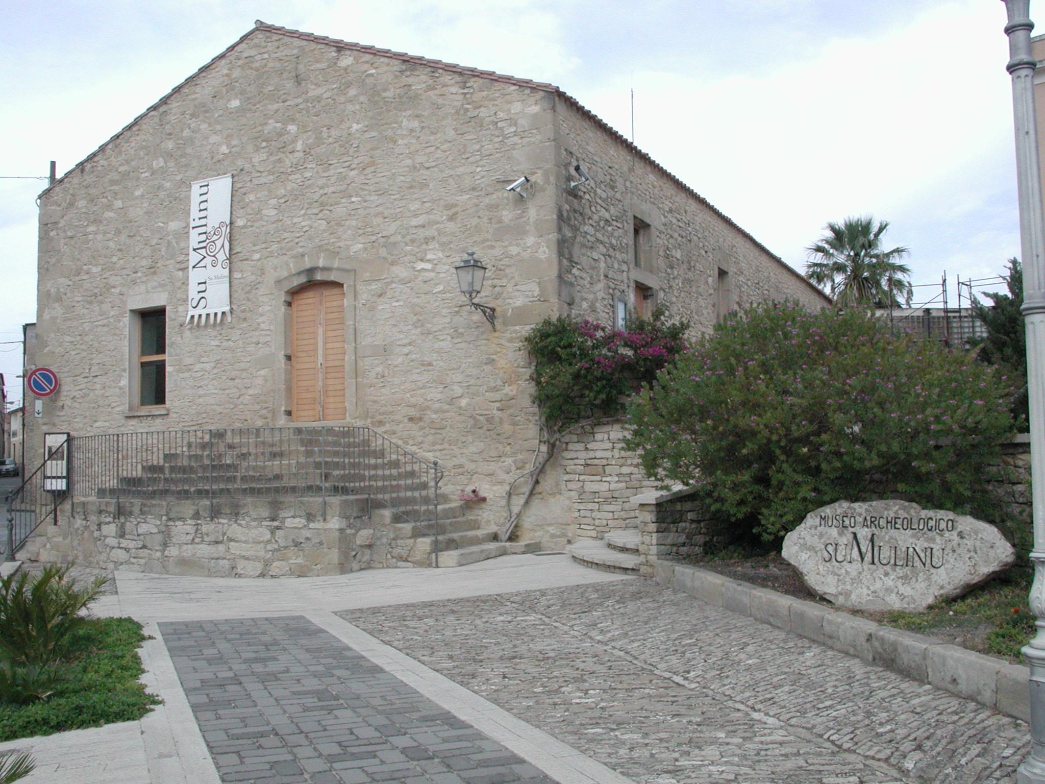 Museo Archeologico Su Mulinu facciata Villanovafranca