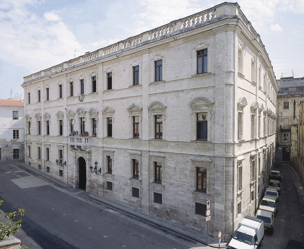 Palazzo Ducale Sassari facciata