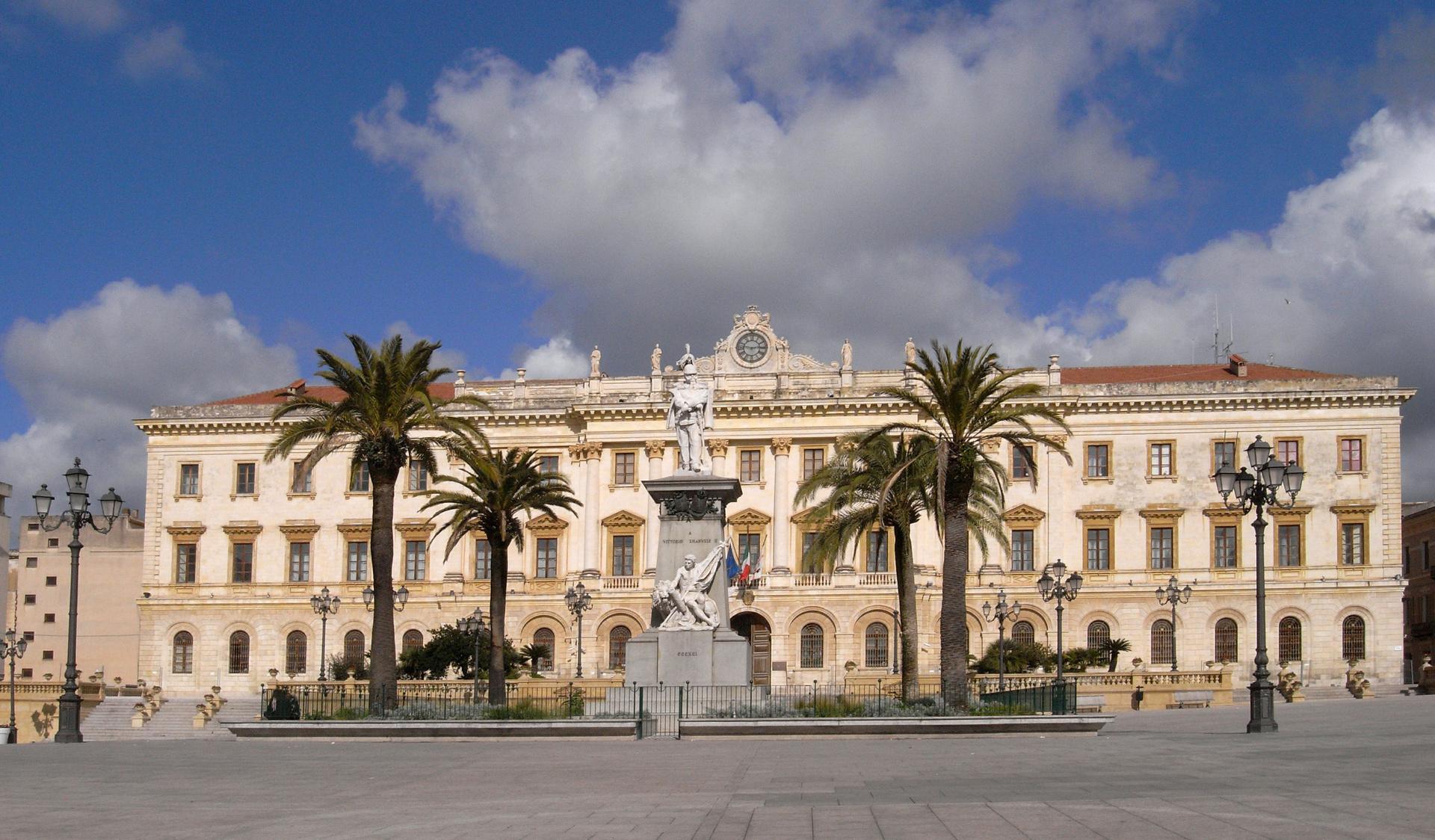 Piazza d'Italia Città di Sassari