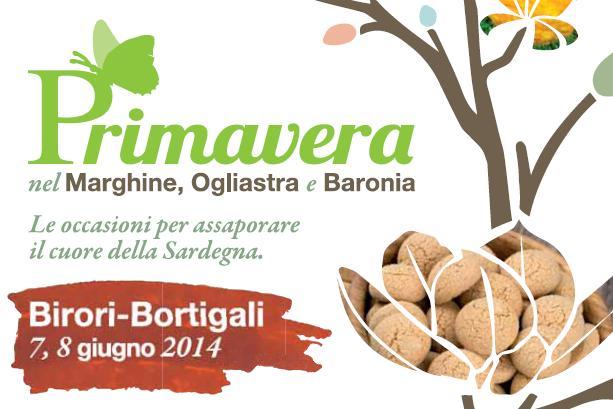 Primavera 2014 Birori e Bortigali 1 e 2 giugno programma completo Primavera nel Marghine