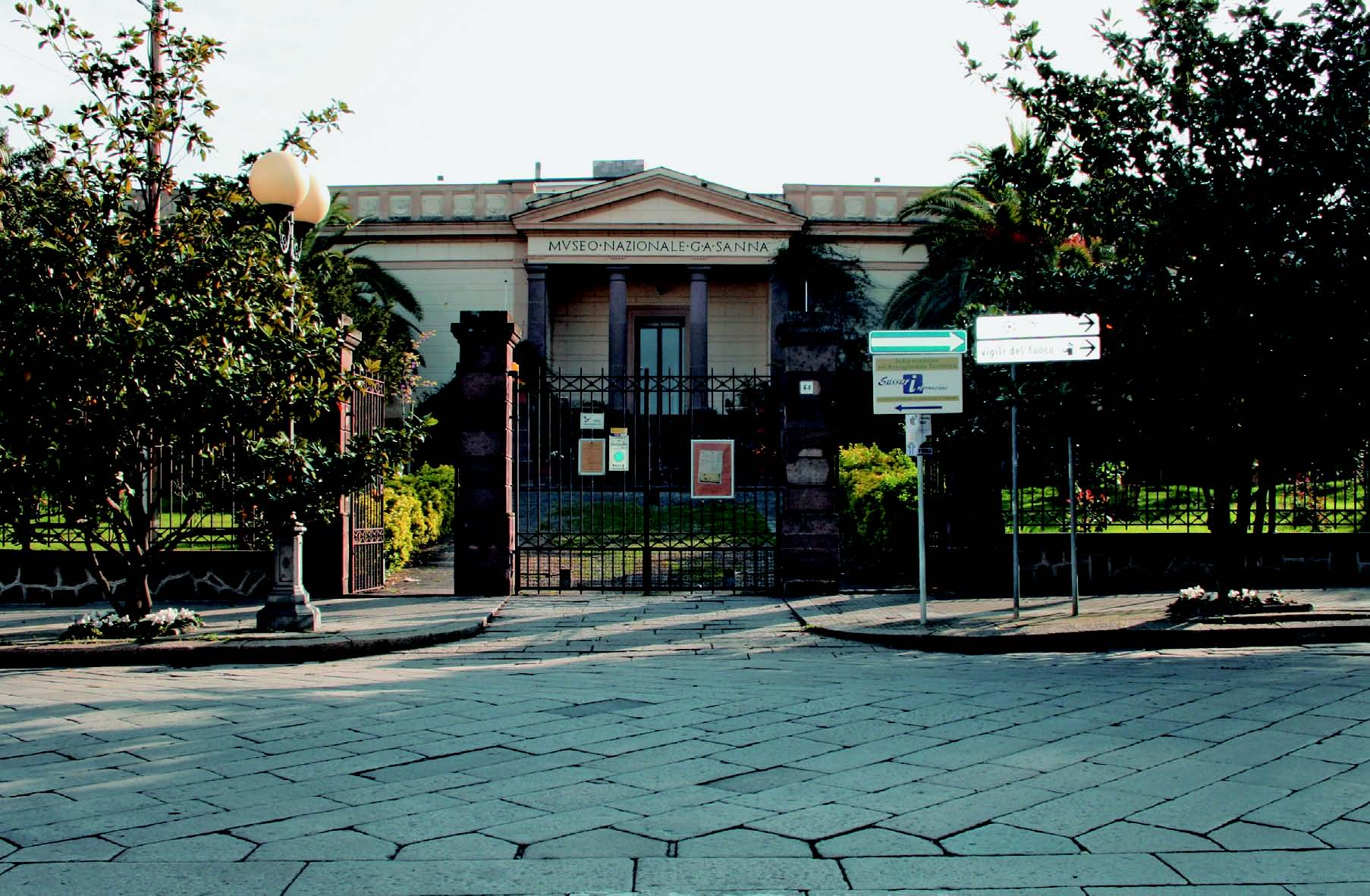 Museo Archeologico Nazionale G.A. Sanna - Via Roma Sassari