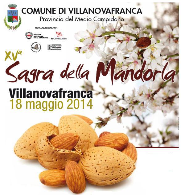 XV Sagra della Mandorla Comune di Villanovafranca 18 maggio 2014