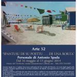 """Personale di Antonio Spada dal 16 maggio al 15 giugno 2014 """"SPANTUSU DE SU POETTU… DE UNA BORTA"""" al Museo naturalistico del territorio """"G. Pusceddu"""" ."""