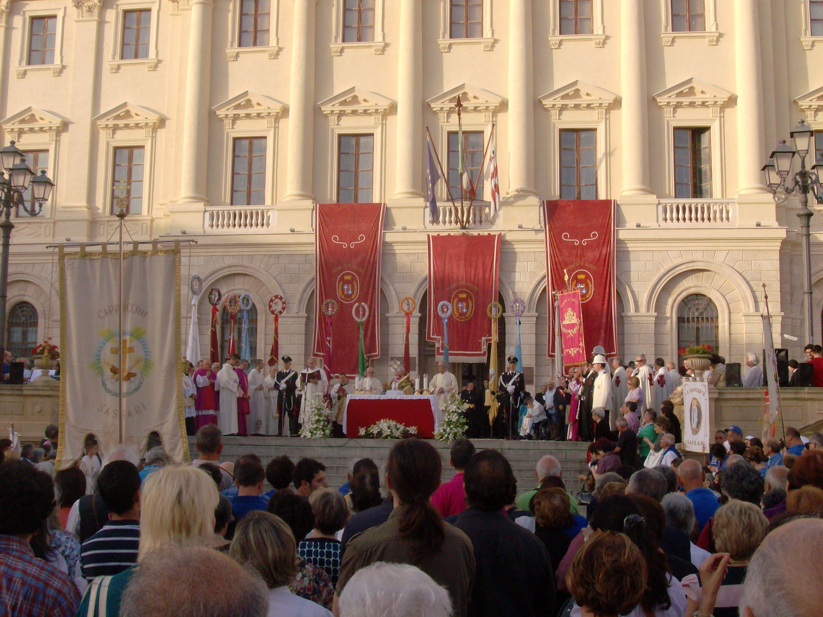 Corpus Domini 22 Giugno 2014 - i partecipanti