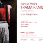 Mostra di Narcisa Monni al MURATS: TRAMA FAMILIARE dal 5 al 27 Luglio 2014