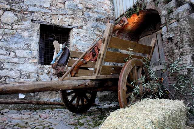 Primavera nel Marghine Ogliastra e Baronia - Ilbono 2014 il carro