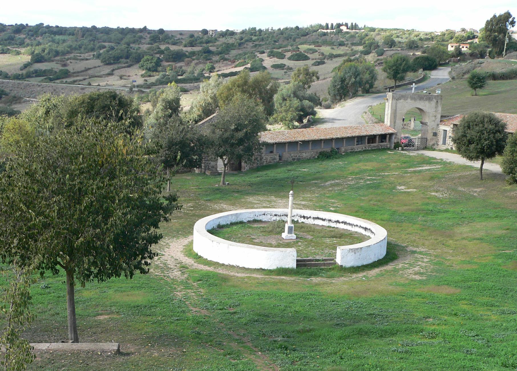 Sedilo Santuario San Costantino