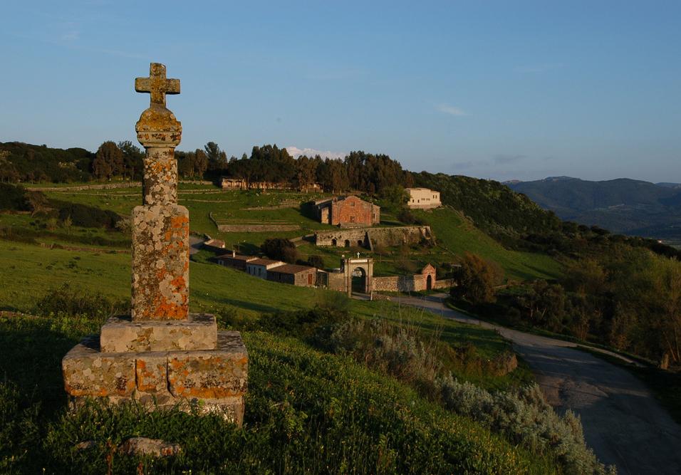 Sedilo veduta del santuario di Santu Antine
