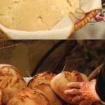 """Biblioteca Comunale di Pirri nei giorni 10-16-23 e 28 luglio 2015 alle ore 16.30 Laboratori di cucina """"Impastiamo insieme con fantasia"""" dedicati ai bambini dai 5 anni in su."""