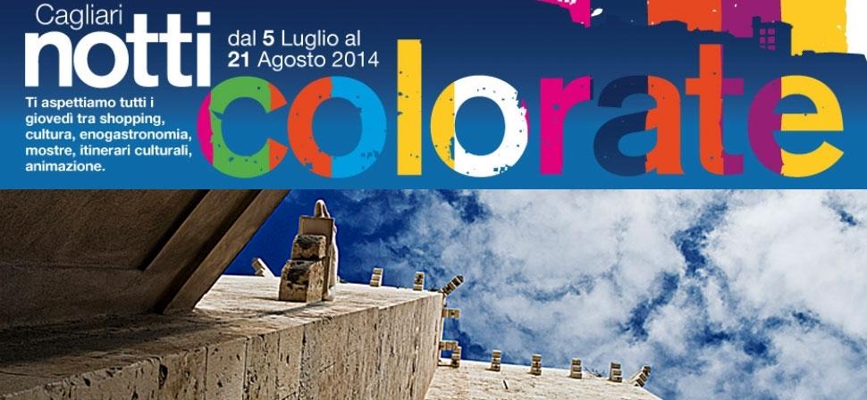 Cagliari notti colorate Musei Civici Cagliari dal 5 luglio al 21 agosto 2014