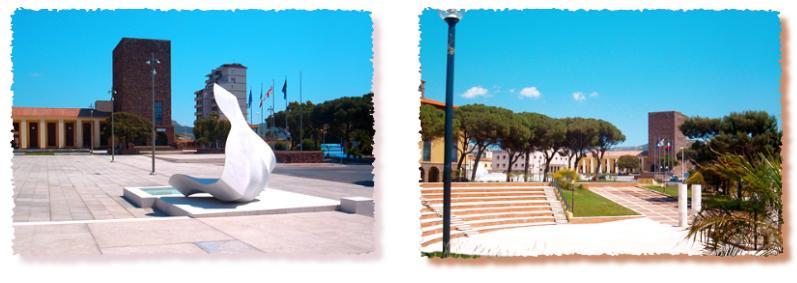 Carbonia foto della Cittadina Sarda bellissima meta turistica della zona sud della Sardegna