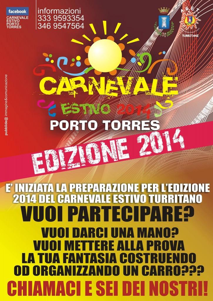 Carnevale estivo 2014 porto torres