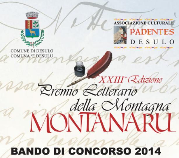 Desulo Premio Letterario della Montagna Motanaru Bando di concorso 2014