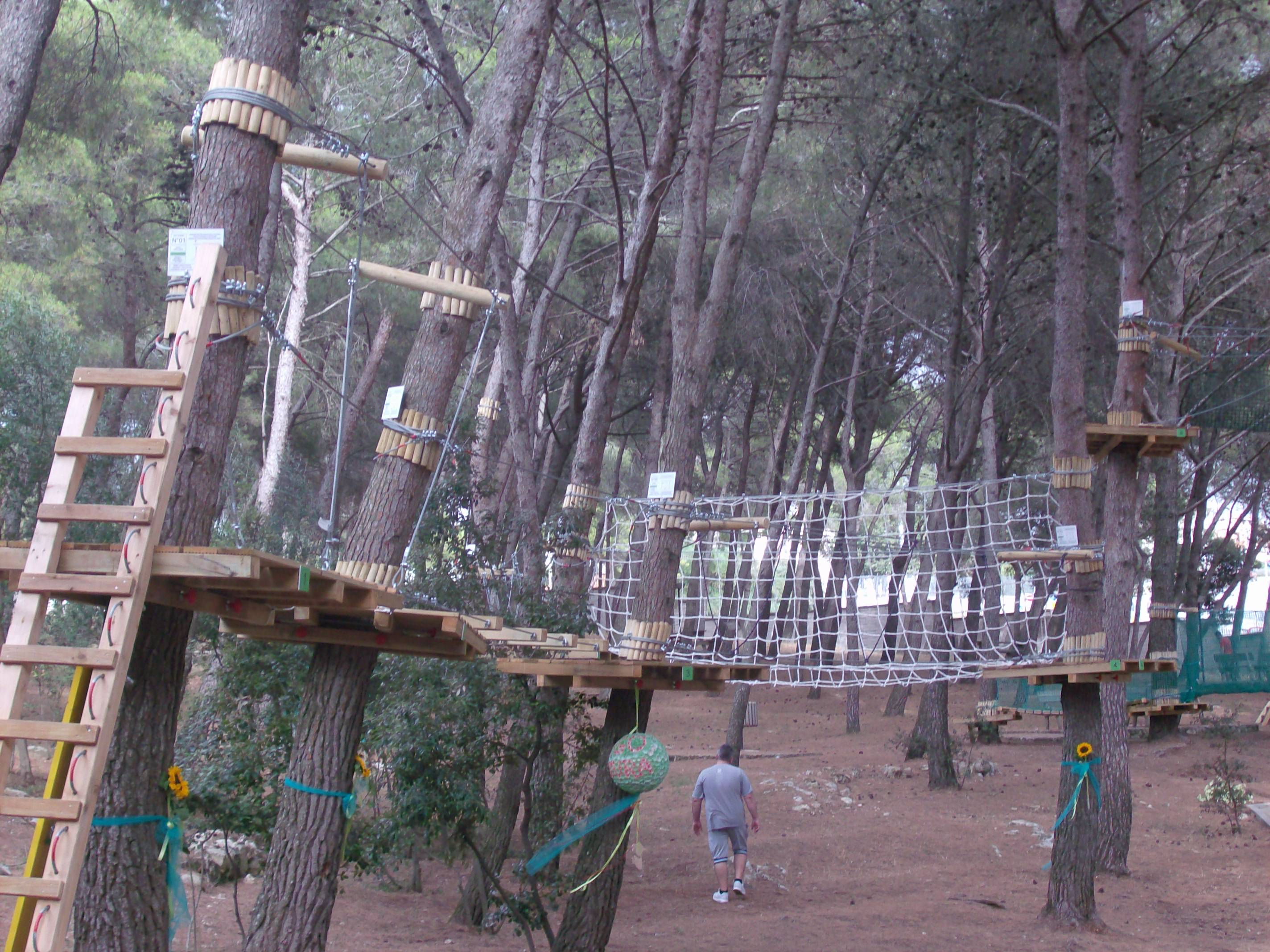 Struttura parco Baddimanna