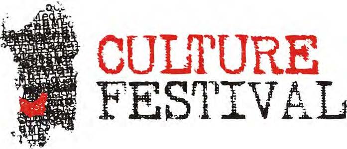 Logo Culture Festival Sanluri ideato da Simone Pittau