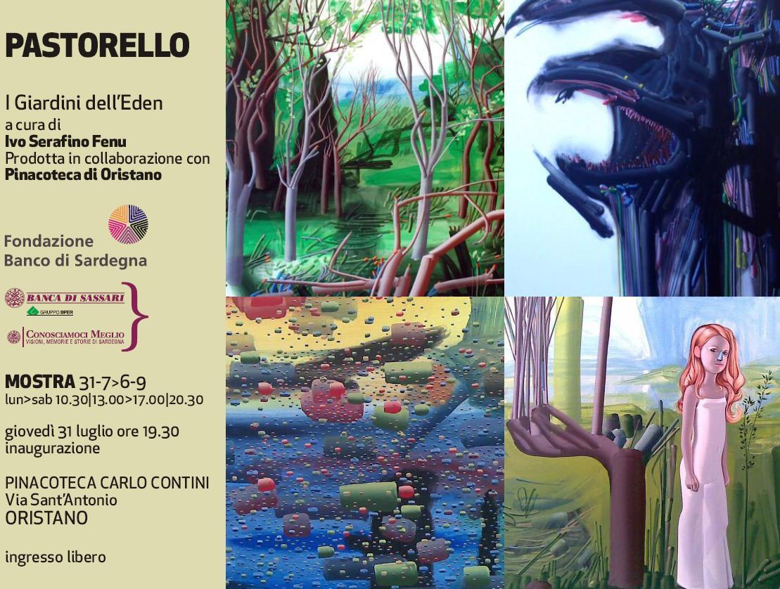 Mostra su Pastorello a cura di Ivo Fenu Pinacoteca Contini Oristano dal 31 luglio al 6 settembre 2014 I Giardini dellEden