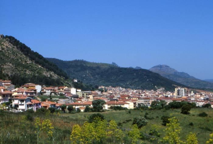 Panorama di Guspini Foto del sito del Comune