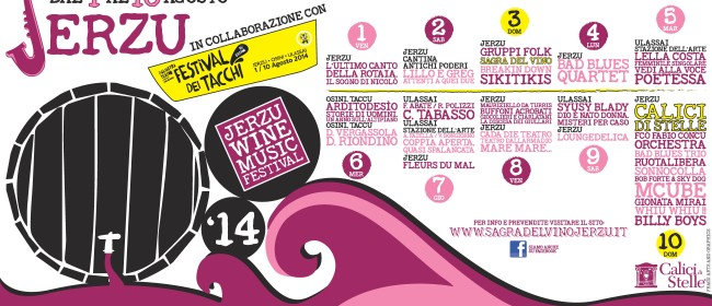 Sagra del Vino e Calici di Stelle – Jerzu Wine & Music Festival 2014