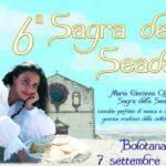6^ Sagra della Seada Bolotana con Maria Giovanna Cherchi 7 settembre 2014 Loc. Parco Pabude