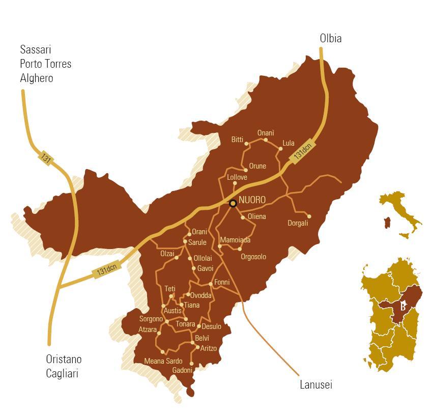 artina Autunno in Barbagia dal 5 settembre al 14 dicembre 2014 28 paesi e le loro Cortes Apertas