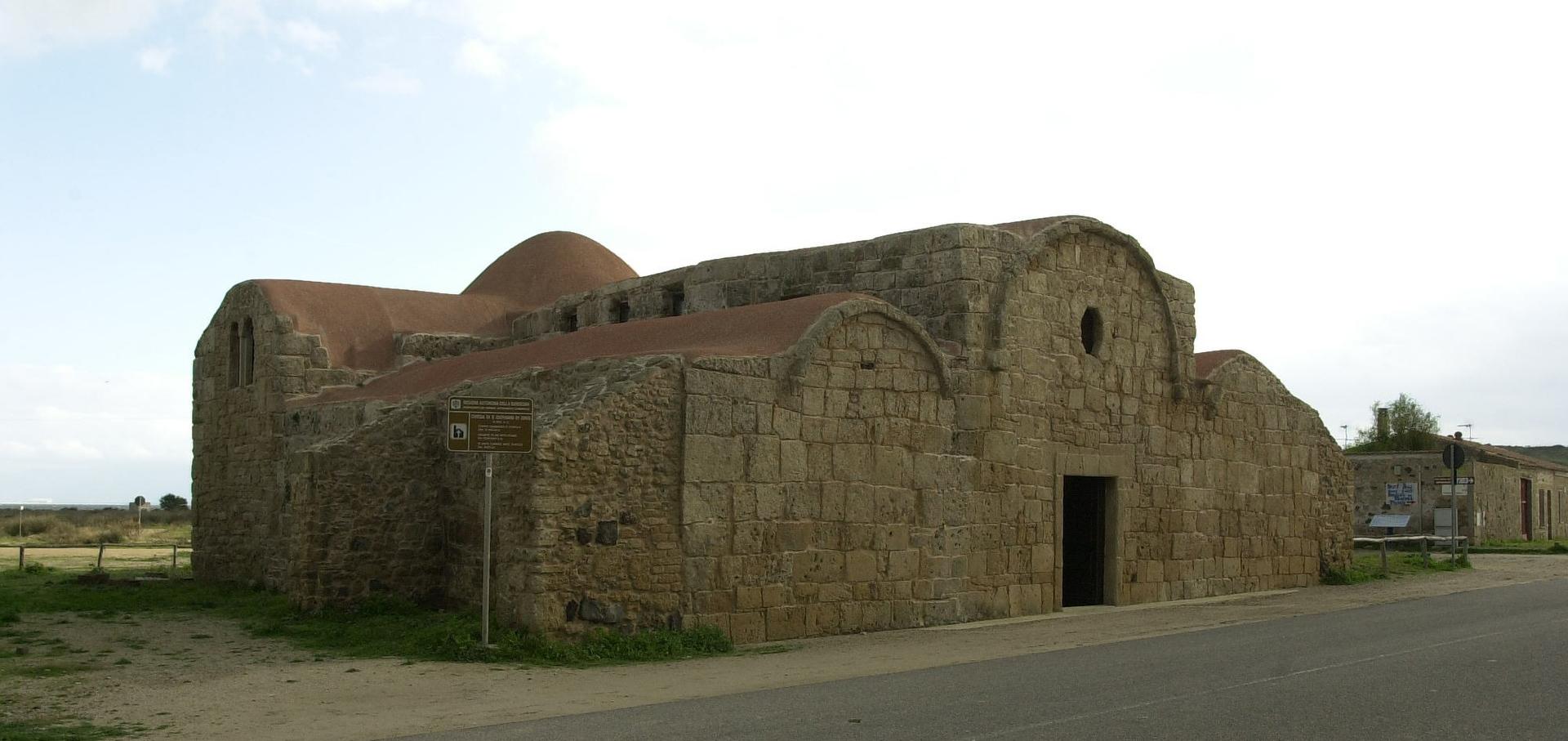 Chiesa di San Giovanni di Sinis Cabras