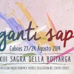 """Cabras 23 e 24 agosto 2014 """"Giganti Sapori"""" XIII edizione della Sagra della Bottarga."""