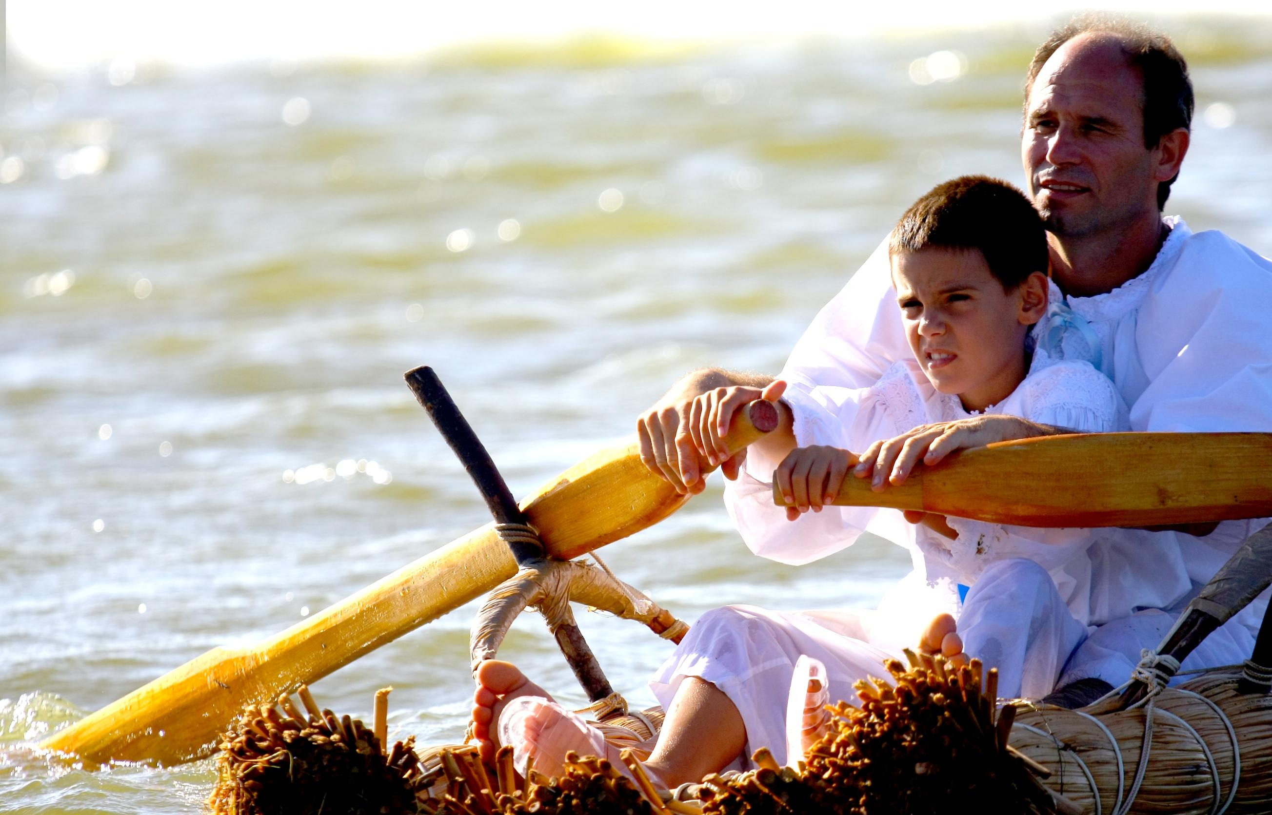 Laguna di Santa Giusta 29-30-31 agosto 2014 Is Fassois