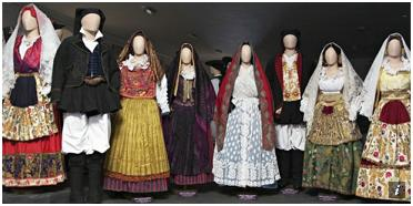 Museo Etnografico Sardo abiti tradizionali
