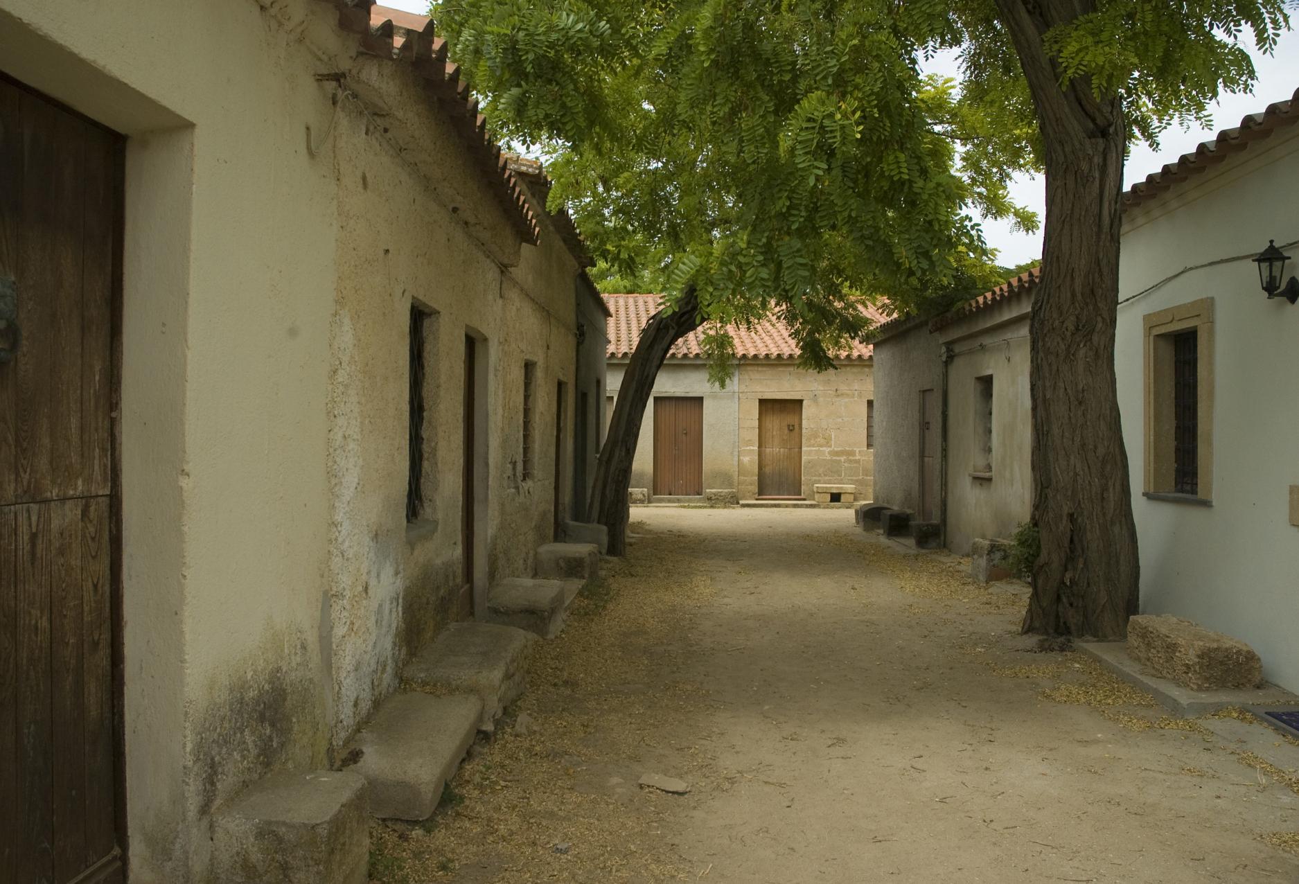 Penisola del Sinis villaggio San Salvatore