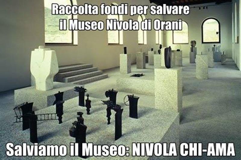 Salviamo il Museo Nivola. Campagna di Sensibilizzazione per la Raccolta Fondi in favore del Museo intestato a Costantino Nivola dal Portale della Cultura Le Vie della Sardegna