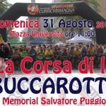 """Sassari 31 agosto 2014 la """"Corsa di li Buccarotti"""" prima edizione targata UISP Sassari e Currichisimagna"""
