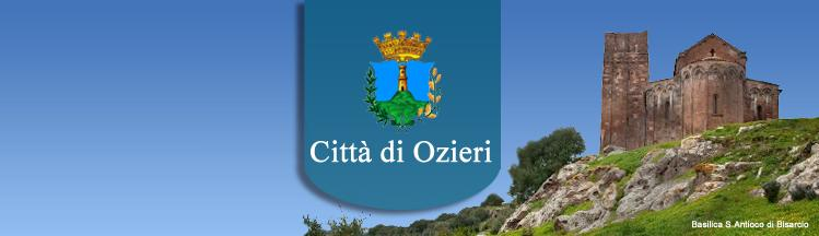 Comune di Ozieri Istituzione San Michele gestione dei servizi Culturali e Turistici