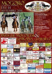 A Mogoro il 13 e il 14 settembre 2014 un weekend di pariglie a cavallo e danze per salutare l'estate