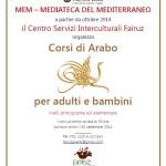 Aperte le iscrizioni ai corsi di arabo per adulti e bambini organizzati presso la MEM di Cagliari.