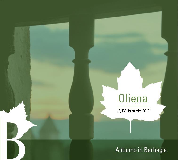 Oliena 12 13 14 settembre 2014 Autunno in Barbagia Cortes Apertas